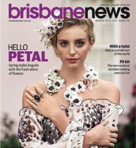 Stephen Dibb Jewellery Jewellery Designer & Tengdahl Fashion Designer of Brisbane featured in Brisbane News 2017