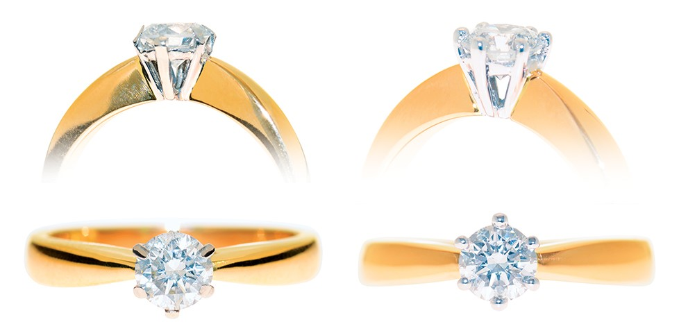 Jewellery Repair Service - re-tipping of claws