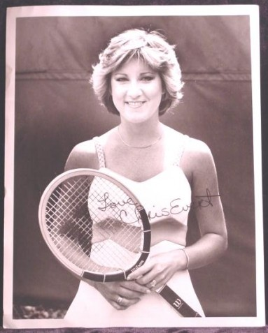 Chris Evert Tennis Champion