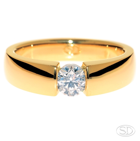 engagement-ring-for-ladies-or-gents-wedding-ring-suspended-diamond-yellow-gold-band-custom-made-and-designed-jewellery-designer-jewelry-shop-brisbane-australia-gold-coast-store.JPG