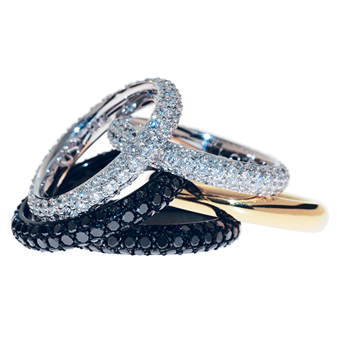 Wedding-Rings-Stackable-Sets-Black-Diamonds-White-Diamonds-Yellow-Gold-White--Gold-Pave-Ring.jpg