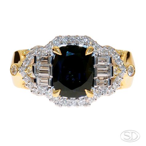 designer dress ring handcrafted in Brisbane